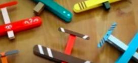 Brinquedos criativos feitos com materiais recicláveis