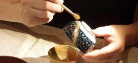 Técnica japonesa para restaurar peças quebradas