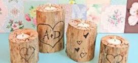Peças lindas artesanato com galhos secos e madeiras velhas