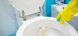 Produto caseiro para limpar vaso sanitário encardido