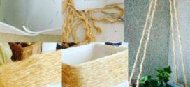 Artesanatos feitos com corda